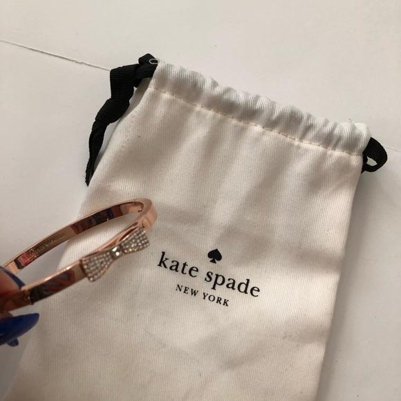 Kate Spade Bow Rose Gold Bracelet